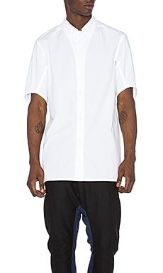 11 by Boris Bidjan Saberi Button Down Shirt in White