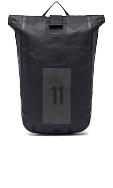 11 by Boris Bidjan Saberi Velocity Backpack in Black