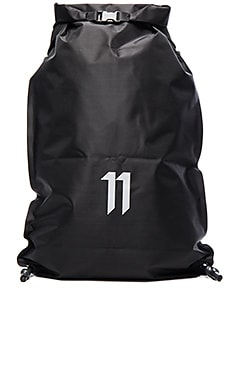 11 by Boris Bidjan Saberi Gym Bag in Black