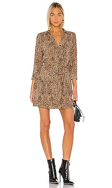 Leopard Muse Patch Pocket Shirt Dress 1. STATE $119