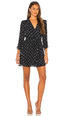 Tie Waist Moonlit Polka Dot Dress 1. STATE $129 NEW ARRIVAL