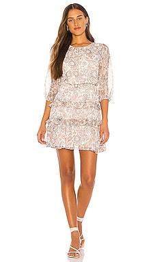 Tiered Ruffle Lyrical Paisley Dress 1. STATE $52