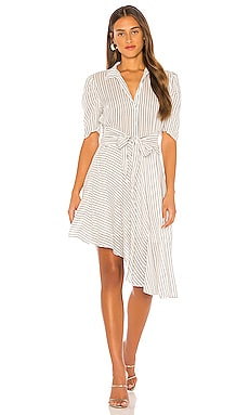 Tie Front Striped Dress 1. STATE $59