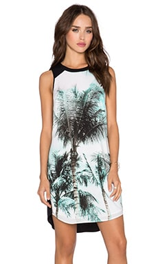 1. STATE Palm Whimsy Shift Dress in Misty Jade