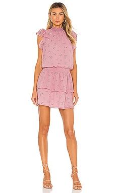 Flutter Sleeve Smocked Neck Dress 1. STATE $89