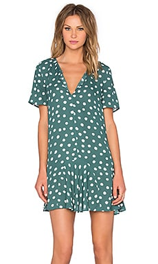 Short Sleeve Dress in Thyme