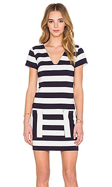 Patch Pocket Shift Dress
