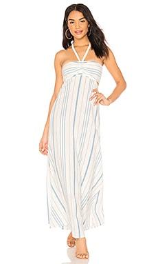 Купить Платье - 1. STATE, Макси, Китай, Белый