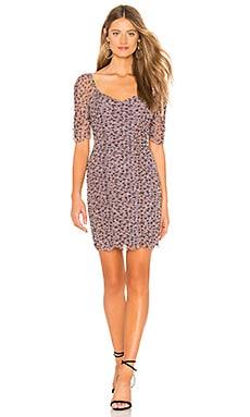Купить Платье ditsy drift - 1. STATE, В цветочек, Китай, Фиолетовый