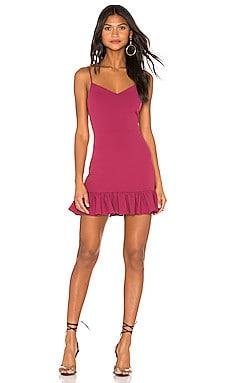 Spaghetti Strap Ruffle Hem Dress 1. STATE $99