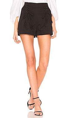 Lace Up Waist Short