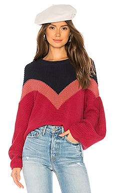 Chevron Front Sweater 1. STATE $89