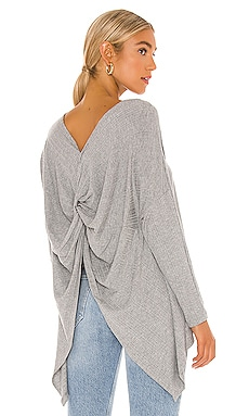 Variegated Rib Knot Sweater 1. STATE $69