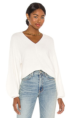Balloon Sleeve Sweater 1. STATE $89