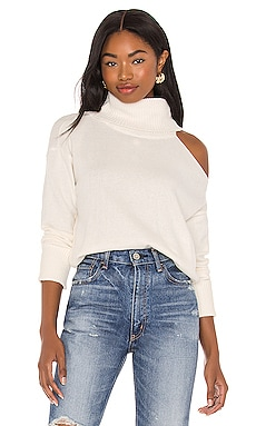 Turtleneck Cold Shoulder Sweater 1. STATE $79 NEW
