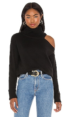 Turtleneck Cold Shoulder Sweater 1. STATE $79