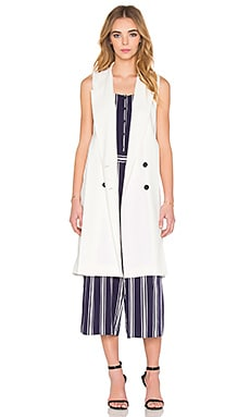 Double Breasted Trench Vest – 云