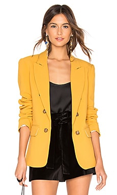Ruched Sleeve Blazer 1. STATE $129