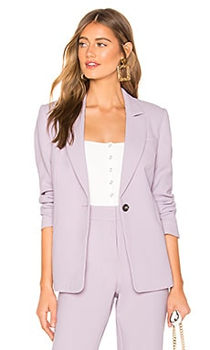 Textured Crepe One Button Blazer 1. STATE $99