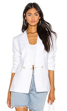 Relaxed Fit Linen Blazer 1. STATE $139
