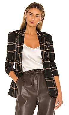 One Button Dynamite Plaid Blazer 1. STATE $139