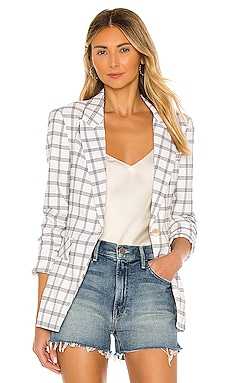 Chic Windowpane Blazer 1. STATE $112