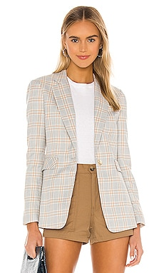 Woodland Plaid Blazer 1. STATE $98