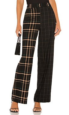 Mixed Print Wide Leg Pant 1. STATE $109