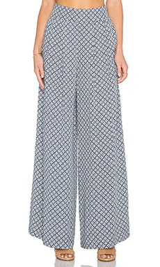 1. STATE High Waist Trouser in Marina Navy