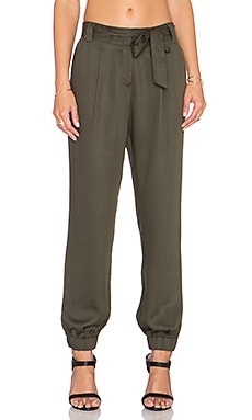 1. STATE The Waist Utility Soft Pant in Grove