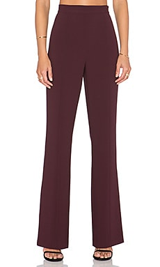 1. STATE 70's Flare Pant in Cherry Noir