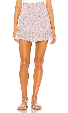 Wildflower Bouquet Mini Skirt 1. STATE $99