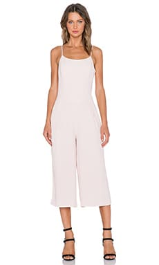 1. STATE Wide Leg Jumpsuit in Rose