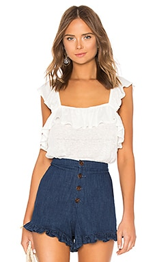 Ruffled Edge Square Neck Ruffle Top 1. STATE $59 BEST SELLER