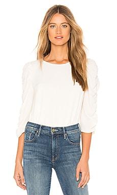 Купить Блузку long sleeve ruched sleeve - 1. STATE белого цвета