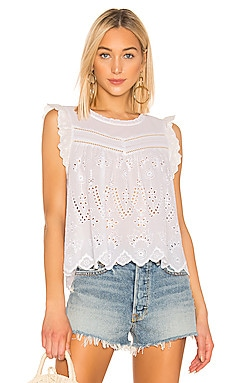 Embroidered Eyelet Blouse 1. STATE $99