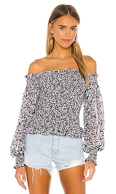 Wildflower Bouquet Blouse 1. STATE $99 BEST SELLER