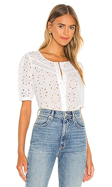 Cotton Eyelet Blouse 1. STATE $89