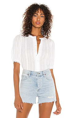Lace Inset Stripe Top 1. STATE $89