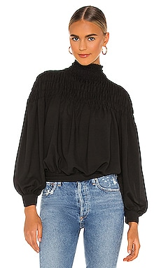Smocked Neck Blouse 1. STATE $69 BEST SELLER