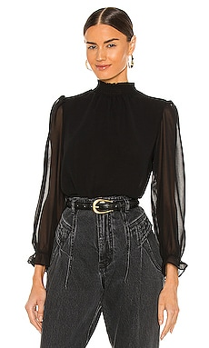 Smocked Neck Top 1. STATE $79