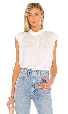 Ruffle Sleeve Blouse 1. STATE $69