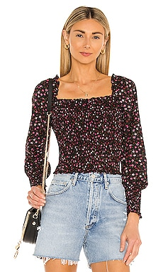 Ditsy Refresh Blouse 1. STATE $89