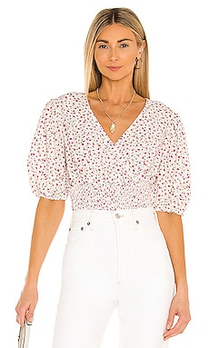 Ditsy Refresh Blouse 1. STATE $79