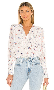 Tranquil Ditsy Garden Blouse 1. STATE $69 NEW