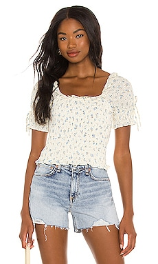 Smocked Puff Sleeve Top 1. STATE $89
