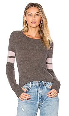 Kara Sweater en Cocoa & Dusty Rose