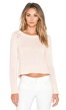 27 miles malibu Donatella Sweater in Blush