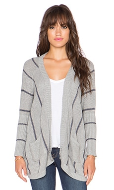 27 miles malibu Trinidad Oversized Cardigan in Heather Combo