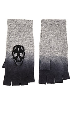 360 Sweater Flint Gloves in Heather Grey & Black